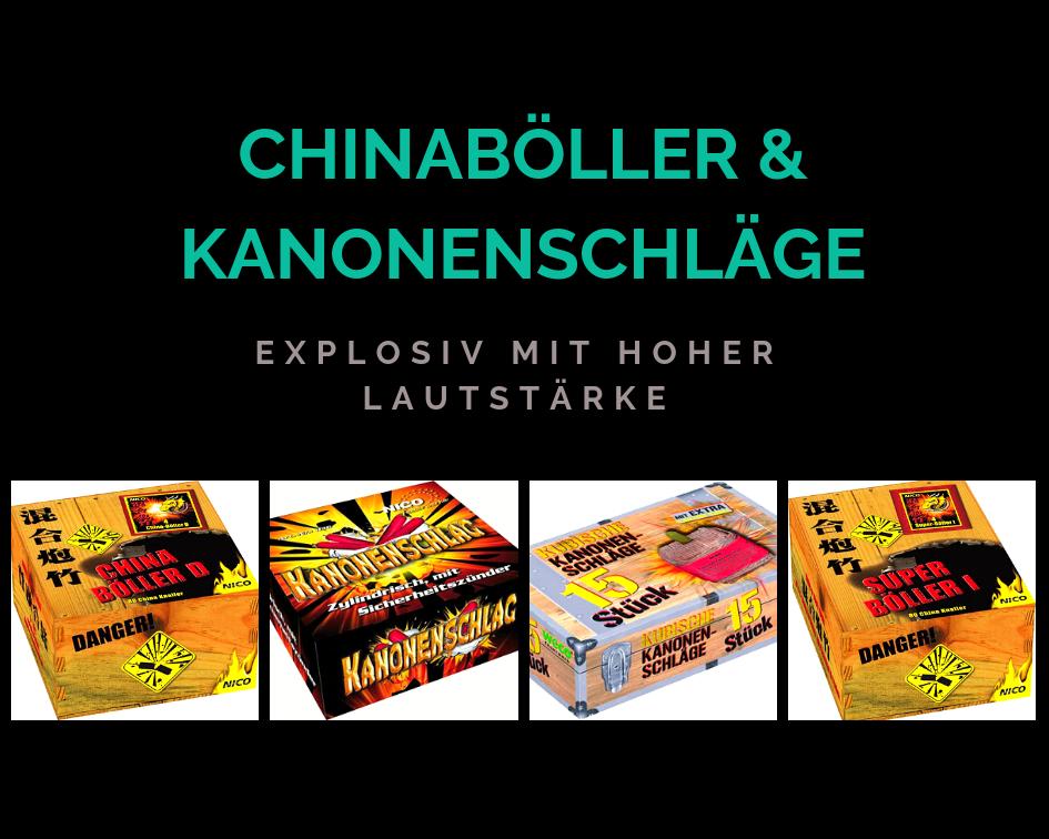 Chinaböller & Kanonenschläge - Explosiv mit hoher lautstärke