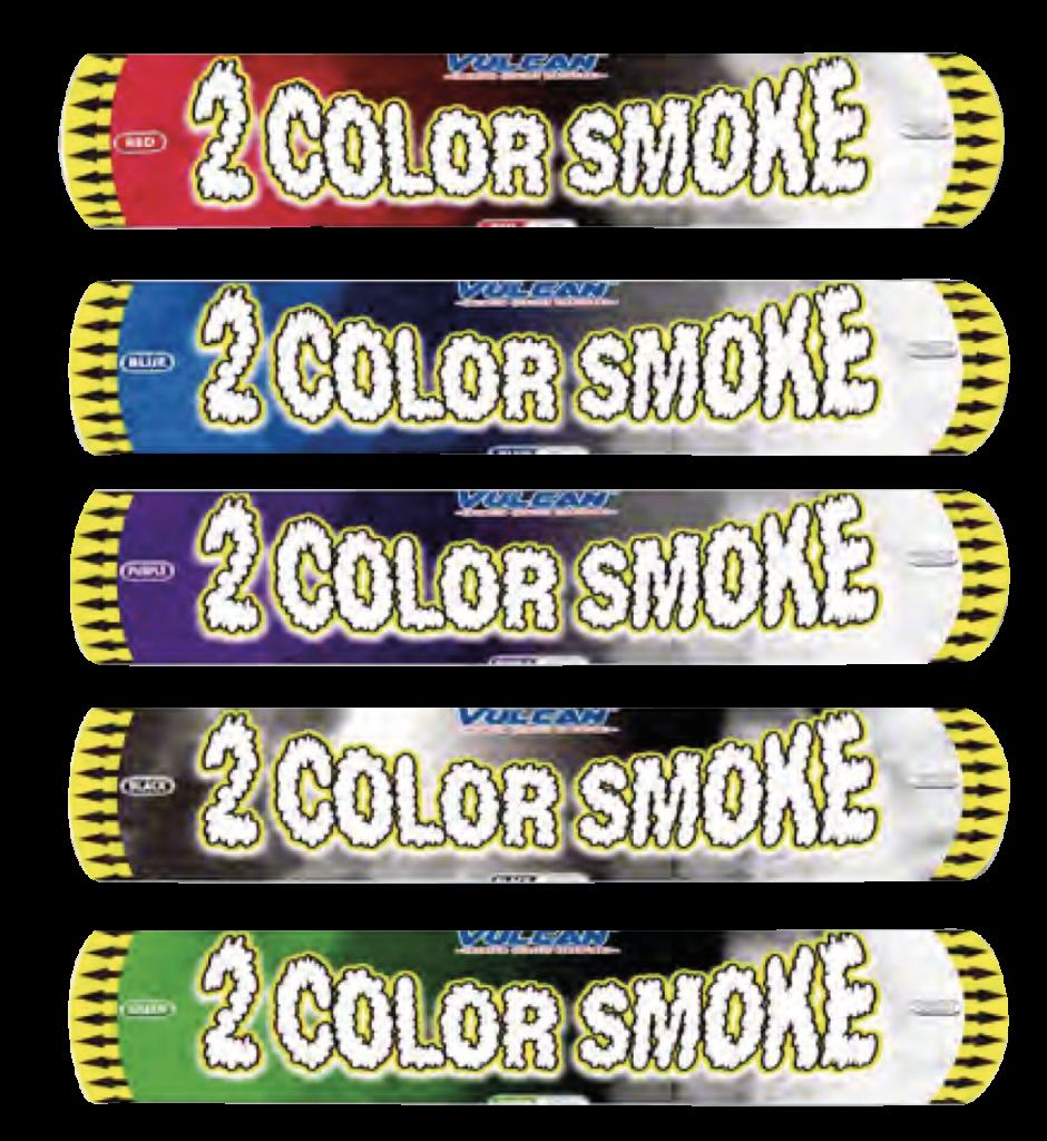 2 Farbiger Rauch - Vulcan Silvesterverkauf Essen