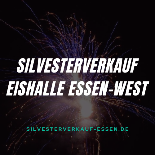 custom logoSilvesterverkauf Eishalle Essen-West