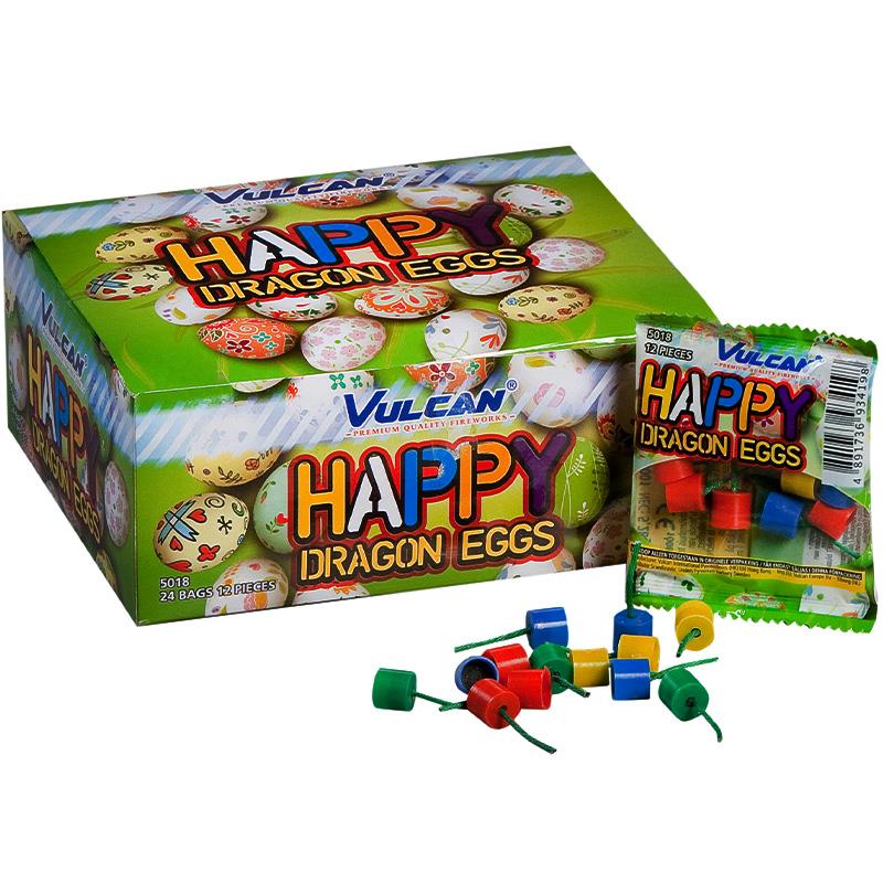 Happy dragon eggs vulcan feuerwerk - silvesterverkauf essen
