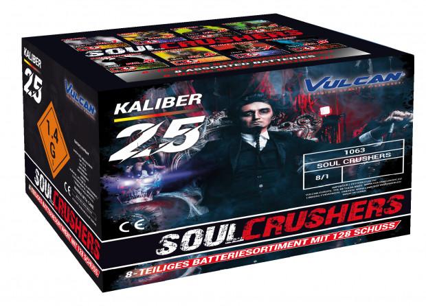 soul crushers - verbundfeuerwerk - batterie vulcan - silvesterverkauf essen